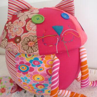 cutie jucarii pisica roz (4)